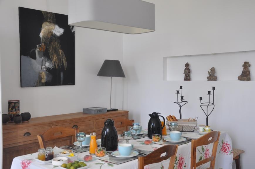petit déjeuner-chambre d'hôtes